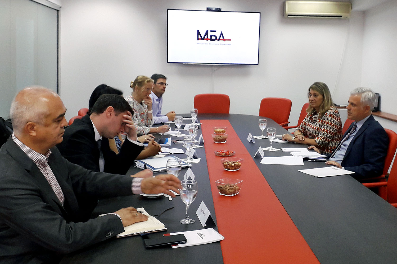 Meeting of the MBA's presidency with the IMF mission – MBA